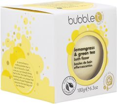 Bubble T Bath Fizzer in Lemongrass & Green Tea (180g)