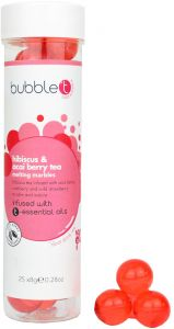 Bubble T Bath Pearls in Hibiscus & Acai Berry Tea (25pcs)