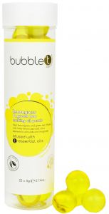Bubble T Bath Pearls in Lemongrass & Green Tea (25 pcs)