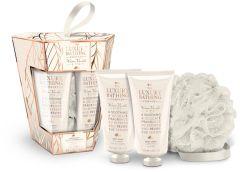 The Luxury Bathing Company Gift Set Warm Vanilla & Fig Touch Of Harmony