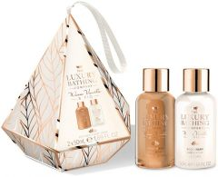 The Luxury Bathing Company Gift Set Warm Vanilla & Fig Beauty Bliss