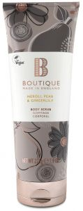 Boutique Vegan Body Scrub Neroli, Pear & Ginger Blossom (225g)