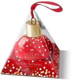 The Luxury Bathing Company Gift Set Wild Fig & Cranberry Bathtime Delight