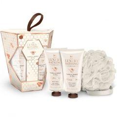 The Luxury Bathing Company Gift Set Vanilla, Honey & Fig Sweet Treats
