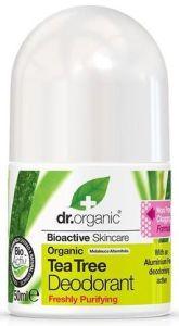 Dr. Organic Tea Tree Deodorant (50mL)