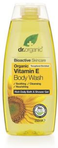 Dr. Organic Vitamin E Body Wash (250mL)