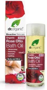 Dr. Organic Rose Bath Oil (100mL)