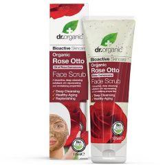 Dr. Organic Rose Face Scrub (125mL)