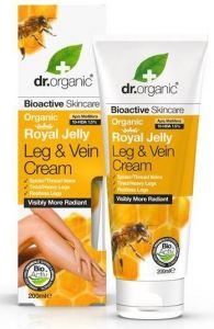 Dr. Organic Royal Jelly Leg & Vein Cream (200mL)