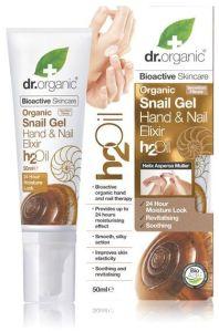 Dr. Organic Snail Gel Hand & Nail Elixir (50mL)