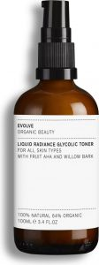 Evolve Organic Beauty Liquid Radiance Glycolic Toner (100mL)