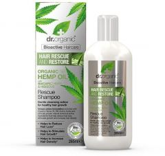 Dr. Organic Hemp Rescue Shampoo (265mL)