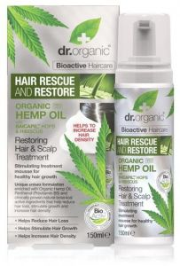 Dr. Organic Hemp Restoring Hair & Scalp Treatment (150mL)