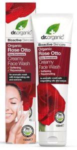 Dr. Organic Rose Rose Otto Creamy Face Wash (150mL)