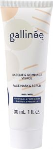 Gallinée Prebiotic Face Mask and Scrub (30mL)