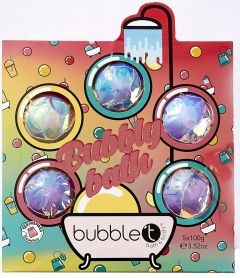 Bubble T Bombs Away Bath Fizzer (5x100g)
