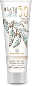 Australian Gold Botanical SPF 50 Tinted Face Fair- Light (88mL)