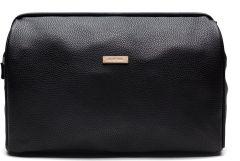 JJDK Cosmetic Bag Anna Marie Big Black Gloss PU ( 28x20x10) 61198