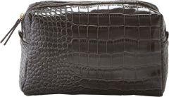 JJDK Cosmetic Bag Sunset Croco Brown PU (26x16x12) 75174