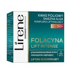Lirene Folacin Anti-Wrinkle Intense Tightening Day Cream 50+ (50mL)