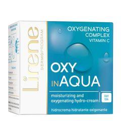 Lirene Daily Moisturizing Cream with Oxygen Complex OXY in Aqua for Normal Skin (50mL)
