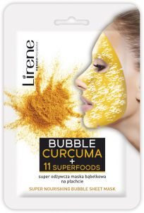 Lirene Super Nourishing Bubble Sheet Mask