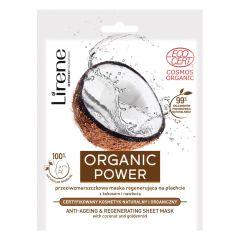 Lirene Organic Power Anti-Ageing & Regenerating Sheet Mask
