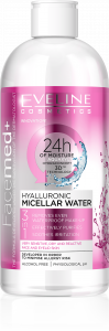 Eveline Cosmetics Facemed+ Hyalluronic Micellar Water (400mL)