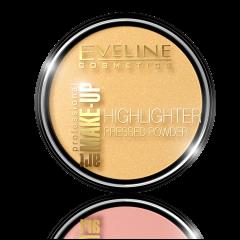 Eveline Cosmetics Art Professional Make-up Highlighter Powder (12g) No. 55golden