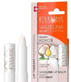 Eveline Cosmetics Lip Therapy Sweet Coconut Vaseline Lip Balm 3,8g