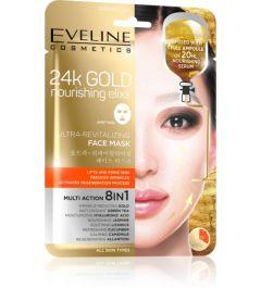 Eveline Cosmetics 24kgold Ultra-revitalizing Face Sheet Mask