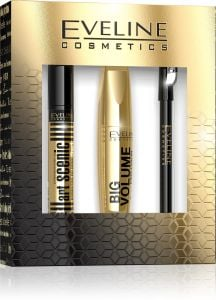 Eveline Cosmetics Eye Make-upgift Set: Mascara, Eyebrow Corrector, Eye Liner Pencil