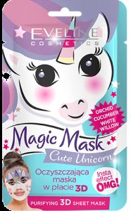 Eveline Cosmetics Fabric Face Mask Magic Mask Unicorn