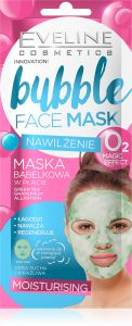 Eveline Cosmetics Fabric Mask Bubble Moisturizing
