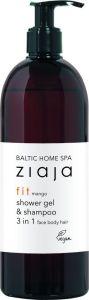 Ziaja Baltic Home Spa Shower Gel & Shampoo 3in1 Face, Body, Hair (500mL)