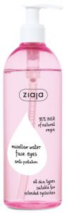 Ziaja Micellar Water Face, Eyes, Anti-pollution (390mL)