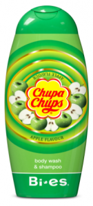 Bi-es Chupa Chups 2in1 Shampoo & Shower Gel Apple (250mL)