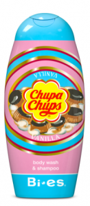 Bi-es Chupa Chups 2in1 Shampoo & Shower Gel Vanilla (250mL)