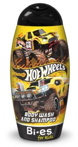 Bi-es Hot Wheels Land Cruiser 2in1 Shampoo & Shower Gel (250mL)