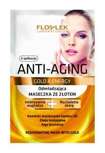 Floslek Gold&Energy Rejuvenating Mask with Gold (2x5mL)