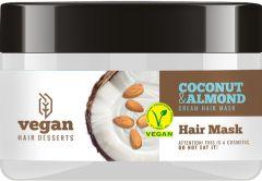 Vegan Desserts Coconut & Almond Hair Mask (250mL)