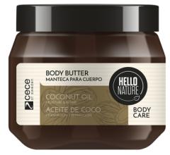 Hello Nature Body Butter Coconut Oil Moisture & Repair (250mL)