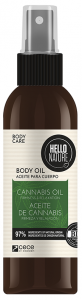 Hello Nature Cannabis Oil Body-hair-face Firmness & Relaxation (130mL)