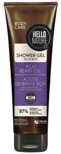 Hello Nature Shower Gel Acai Oil Regeneration & Anti-aging (250mL)