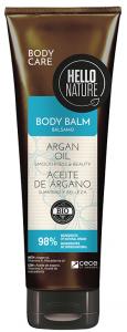 Hello Nature Body Balm Argan Oil Smoothness & Beauty (250mL)
