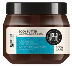 Hello Nature Body Butter Argan Oil Smoothness & Beauty (250mL)