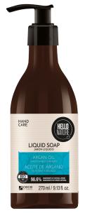 Hello Nature Liquid Soap Argan Oil Smoothness & Beauty (270mL)