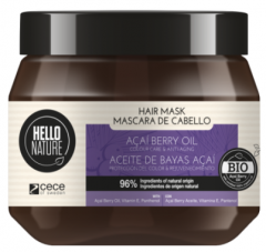 Hello Nature Hair Mask Acai Oil Colour Care Anti-aging (250mL)