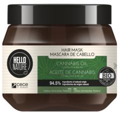 Hello Nature Hair Mask Cannabis Oil Flexibility & Relax (250mL)