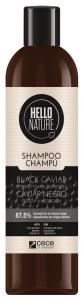 Hello Nature Shampoo Black Caviar Strenght & Nutrition (300mL)